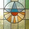 voorbeeld glas in lood